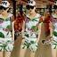 เสื้อผ้าแฟชั่นเกาหลี Seoul Secret Say's...Chic Chic Leaflet Sport Set thumbnail 1