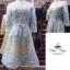 เสื้อผ้าแฟชั่นเกาหลี Fleur lace panel dress Odee&Cutie Daily Fashion 2017 thumbnail 5