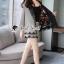 เสื้อผ้าแฟชั่นเกาหลี Seoul Secret Say's...Lace Suit Set Shady Gray Elegant thumbnail 3