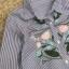 เสื้อผ้าแฟชั่นเกาหลี Normal Ally Present Embroider Secret gardens new S.P brand collection thumbnail 8