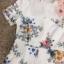 เสื้อผ้าแฟชั่นเกาหลี Normal Ally Present Spring print and 3D flower playsuit by K.S brand thumbnail 9
