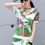 เสื้อผ้าแฟชั่นเกาหลี Seoul Secret Say's...Chic Chic Leaflet Sport Set thumbnail 4