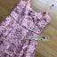 เสื้อผ้าแฟชั่นเกาหลี Lady Ribbon's Made Lady Alisa Baby Pink Guipure Lace Single Dress thumbnail 9