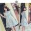 เสื้อผ้าแฟชั่นเกาหลี Fleur lace panel dress Odee&Cutie Daily Fashion 2017 thumbnail 2