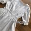 เสื้อผ้าแฟชั่นเกาหลี Lady Ribbon's Made Lady Victoria Casual Holiday White Cotton Dress thumbnail 6
