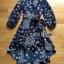 เสื้อผ้าแฟชั่นเกาหลี Lady Ribbon's Made Lady Monica Floral Patterned Printed Wrap Dress thumbnail 5