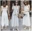 เสื้อผ้าแฟชั่นเกาหลี Lady Ribbon's Made Lady Emma Traveler Minimal Cotton Jumpsuit thumbnail 3