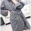 เสื้อผ้าแฟชั่นเกาหลี Lady Ribbon's Made Lady Smart Chic Twist Ribbon Shirt Dress thumbnail 10