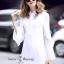 เสื้อผ้าแฟชั่นเกาหลี Sweet Bunny Present... Overlay White Shirt Dress thumbnail 1