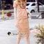 เสื้อผ้าแฟชั่นเกาหลี Seoul Secret Say's... Oranginaa Latte Leaf Lace Chic Set thumbnail 5