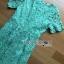 เสื้อผ้าแฟชั่นเกาหลี Lady Ribbon's Made Lady Penelope Elegant Feminine Minty Lace Maxi Dress thumbnail 8