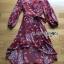 เสื้อผ้าแฟชั่นเกาหลี Lady Ribbon's Made Lady Monica Floral Patterned Printed Wrap Dress thumbnail 14