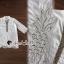 เสื้อผ้าแฟชั่นเกาหลี Seoul Secret Say's .... Ivory Summer Embroider ShirtDress thumbnail 5