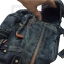 Jeans Denim Backpack, Travel, Leisure, Vacation Rucksack, 2 handle thumbnail 16