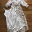 เสื้อผ้าแฟชั่นเกาหลี Lady Ribbon's Made Lady Natalie Little Princess High-Neck White Lace Long Dress thumbnail 13