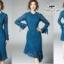 เสื้อผ้าแฟชั่นเกาหลี Valentino lace panel dressOdee&Cutie Daily Fashion 2017- thumbnail 2