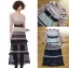 เสื้อผ้าแฟชั่นเกาหลี Lady Ribbon's Made Lady Luna Ruffle Layered Mixed Lace Long Dress thumbnail 4