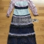 เสื้อผ้าแฟชั่นเกาหลี Lady Ribbon's Made Lady Luna Ruffle Layered Mixed Lace Long Dress thumbnail 8
