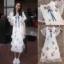 เสื้อผ้าแฟชั่นเกาหลี New Arrival … Don't Miss!! Normal Ally Present Embroider flower W.L new collection dress thumbnail 10