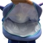 Preschool, Nursery school, Genuine Brand, Cartoon Backpack, lint, Stitch thumbnail 4