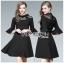 🎀 Lady Ribbon's Made 🎀 Lady Bianca Black Ribbon Frilled Dress thumbnail 4