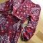 เสื้อผ้าแฟชั่นเกาหลี Lady Ribbon's Made Lady Monica Floral Patterned Printed Wrap Dress thumbnail 16