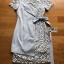 เสื้อผ้าแฟชั่นเกาหลี Lady Ribbon's Made Lady Sofia Graphic Two-Tone Baby Blue Dress thumbnail 13