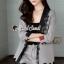 เสื้อผ้าแฟชั่นเกาหลี Seoul Secret Say's...Lace Suit Set Shady Gray Elegant thumbnail 4