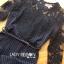 เสื้อผ้าแฟชั่นเกาหลี Lady Ribbon's Made Lady Francesca Smart Casual Vertical Stripes with Inserted Lace Jumpsuit thumbnail 8