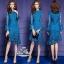 เสื้อผ้าแฟชั่นเกาหลี Valentino lace panel dressOdee&Cutie Daily Fashion 2017- thumbnail 1