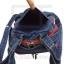 Jeans Denim Backpack, graphics pattern2, Medium Size thumbnail 7