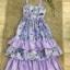 เสื้อผ้าแฟชั่นเกาหลี Normal Ally Present Secret garden premium dress thumbnail 8