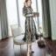 เสื้อผ้าแฟชั่นเกาหลี 2Sister Made, Korea Vintage Eastern Lady Dress thumbnail 5