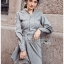 เสื้อผ้าแฟชั่นเกาหลี Lady Ribbon's Made Lady Smart Chic Twist Ribbon Shirt Dress thumbnail 4