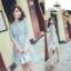 เสื้อผ้าแฟชั่นเกาหลี Fleur lace panel dress Odee&Cutie Daily Fashion 2017 thumbnail 4