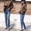 เสื้อผ้าแฟชั่นเกาหลี สินค้าพร้อมส่งงานไซส์ใหญ่ the best comfortable jeans by Hong kong thumbnail 4