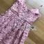 เสื้อผ้าแฟชั่นเกาหลี Lady Ribbon's Made Lady Alisa Baby Pink Guipure Lace Single Dress thumbnail 10