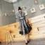 เสื้อผ้าแฟชั่นเกาหลี 2Sister Made, Korea Vintage Eastern Lady Dress thumbnail 7