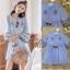 เสื้อผ้าแฟชั่นเกาหลี Normal Ally Present Embroidered Bohemian style dress thumbnail 8