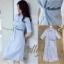 เสื้อผ้าแฟชั่นเกาหลี New Arrival … Don't Miss! Normal Ally Present Striped embroider crystal waist dress thumbnail 8