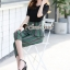 เสื้อผ้าแฟชั่นเกาหลี Seoul Secret Say's... Girly Worky Smart Stripe Set thumbnail 3