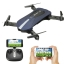 EACHINE E52 BLUE FPV Selfie Pocket Drone WiFi APP Control Altitude Hold RC Helicopter thumbnail 1
