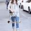 เสื้อผ้าแฟชั่นเกาหลี Seoul Secret Say's .... Ivory Summer Embroider ShirtDress thumbnail 2