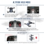 EACHINE E52 BLUE FPV Selfie Pocket Drone WiFi APP Control Altitude Hold RC Helicopter thumbnail 4