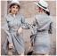 เสื้อผ้าแฟชั่นเกาหลี Lady Ribbon's Made Lady Smart Chic Twist Ribbon Shirt Dress thumbnail 1