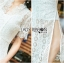 เสื้อผ้าแฟชั่นเกาหลี Lady Ribbon's Made Lady Alice Chinese Style White Lace Dress thumbnail 6
