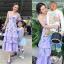 เสื้อผ้าแฟชั่นเกาหลี Normal Ally Present Secret garden premium dress thumbnail 1