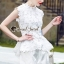 Seoul Secret Say's... White Daisy Cami Blouse thumbnail 5