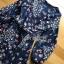 เสื้อผ้าแฟชั่นเกาหลี Lady Ribbon's Made Lady Monica Floral Patterned Printed Wrap Dress thumbnail 6