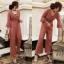 เสื้อผ้าแฟชั่นเกาหลี New arrival ... Don't Miss!! Normal Ally Present Classy Lace Jumpsuit thumbnail 2